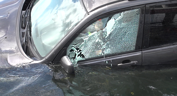 Tough Break: Laminated Windows Could Make It Hard to Escape Your Car