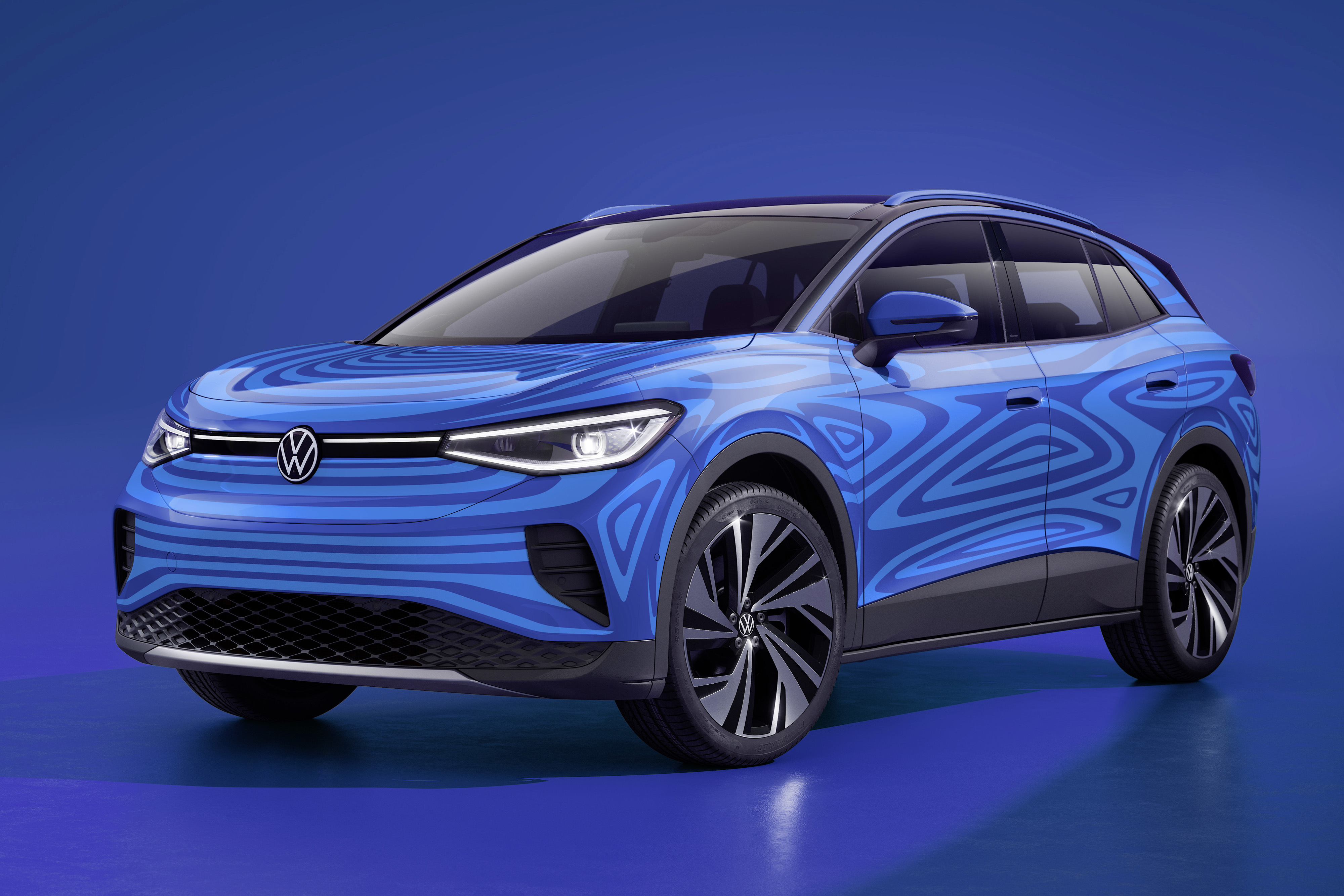 Volkswagen ID.4 Gets ID'd for U.S. as Small Electric SUV