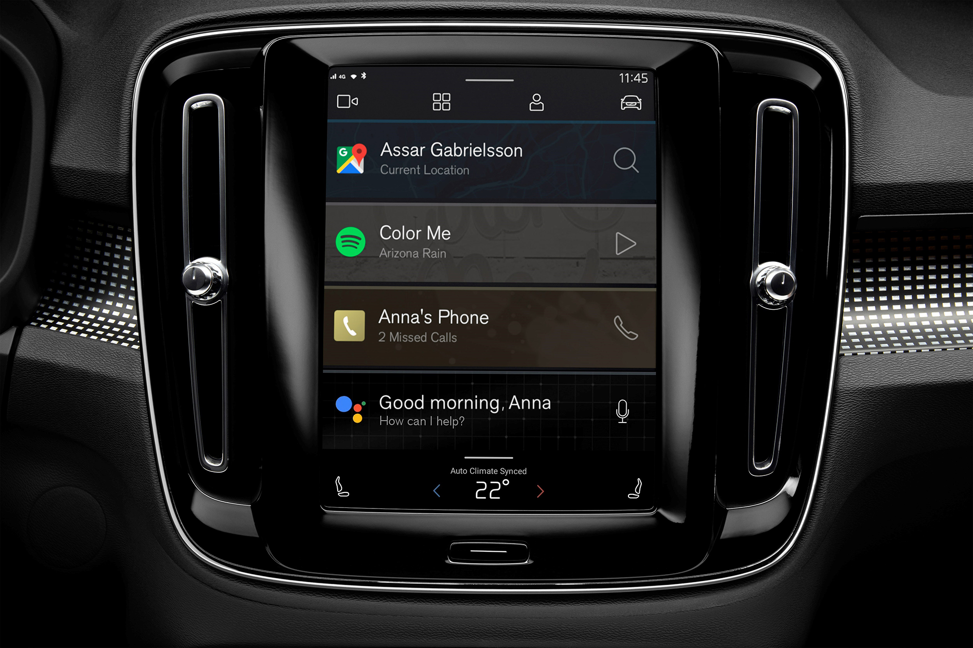 All-Electric Volvo XC40 Gets New Android-Powered Infotainment System