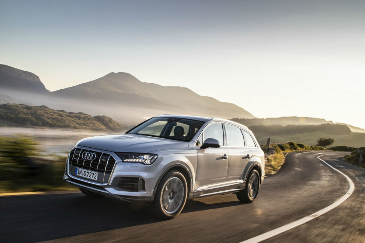 2020 Audi Q7: New Screens, New Smile