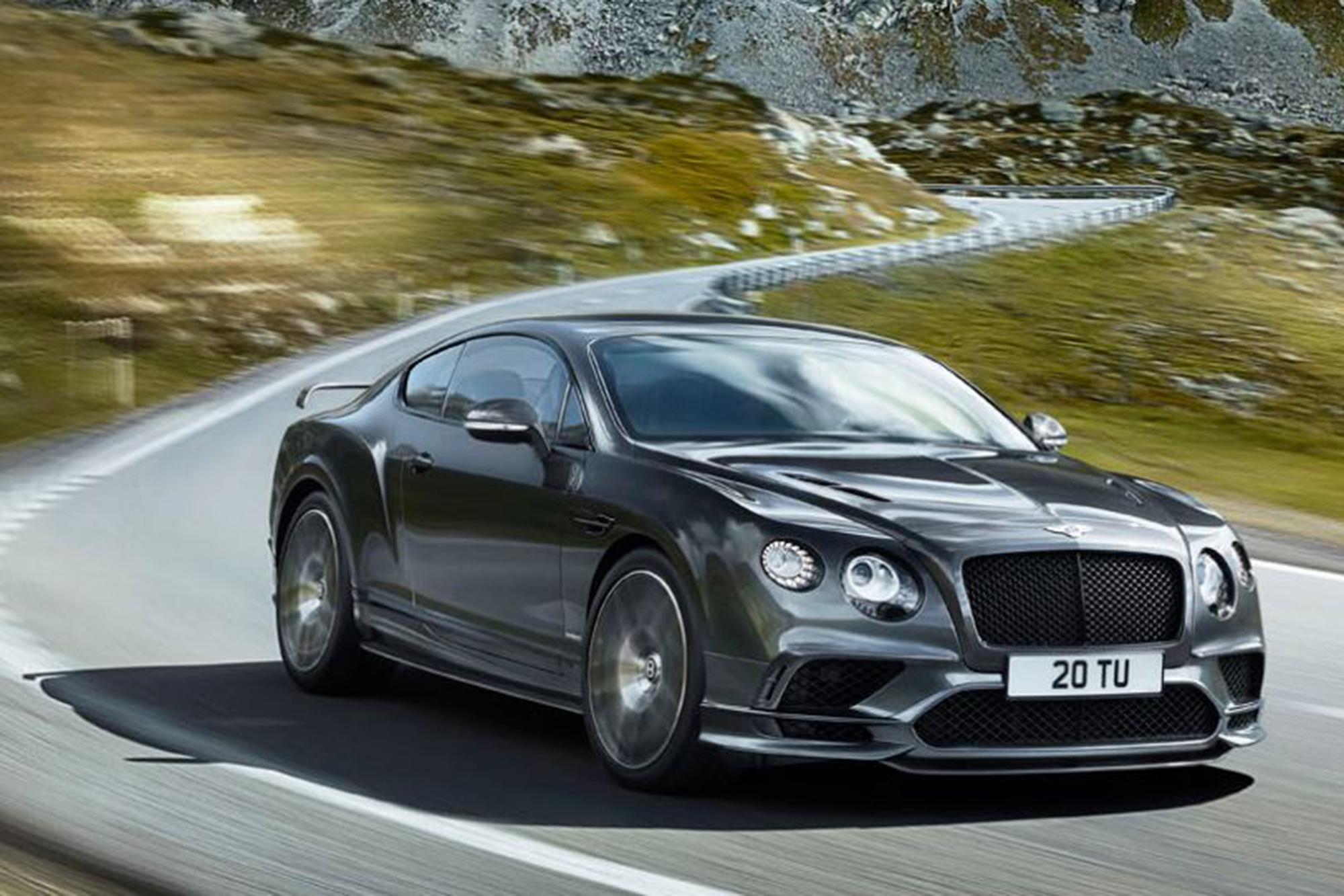 2017-2018 Bentley Continental Supersports: Recall Alert