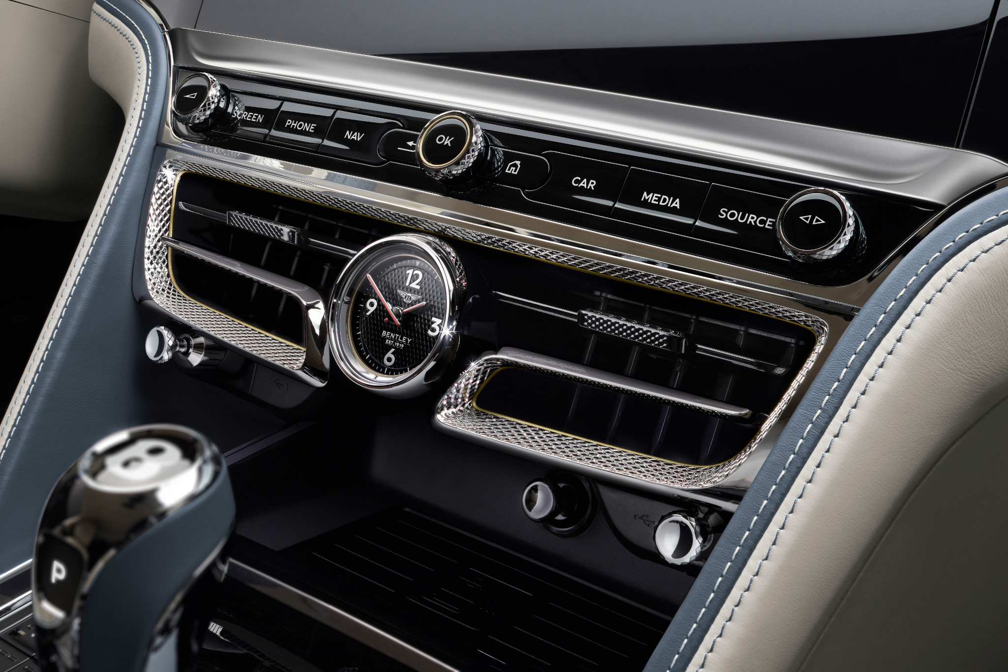 2020 Bentley Flying Spur When Doors Without 3 D Quilted Leather