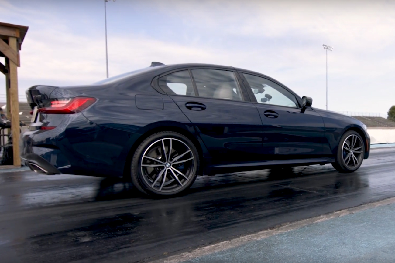 2019 BMW 330i Vs. 2020 BMW M340i: At the Drag Strip