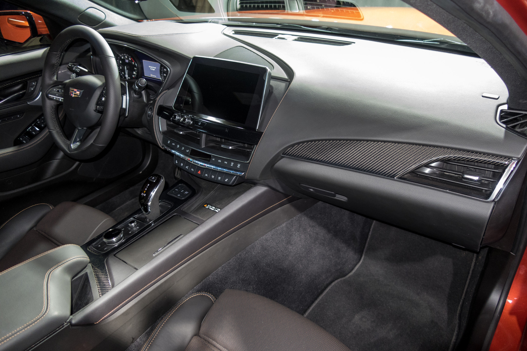 car pictures review: 2020 cadillac ct5 v interior