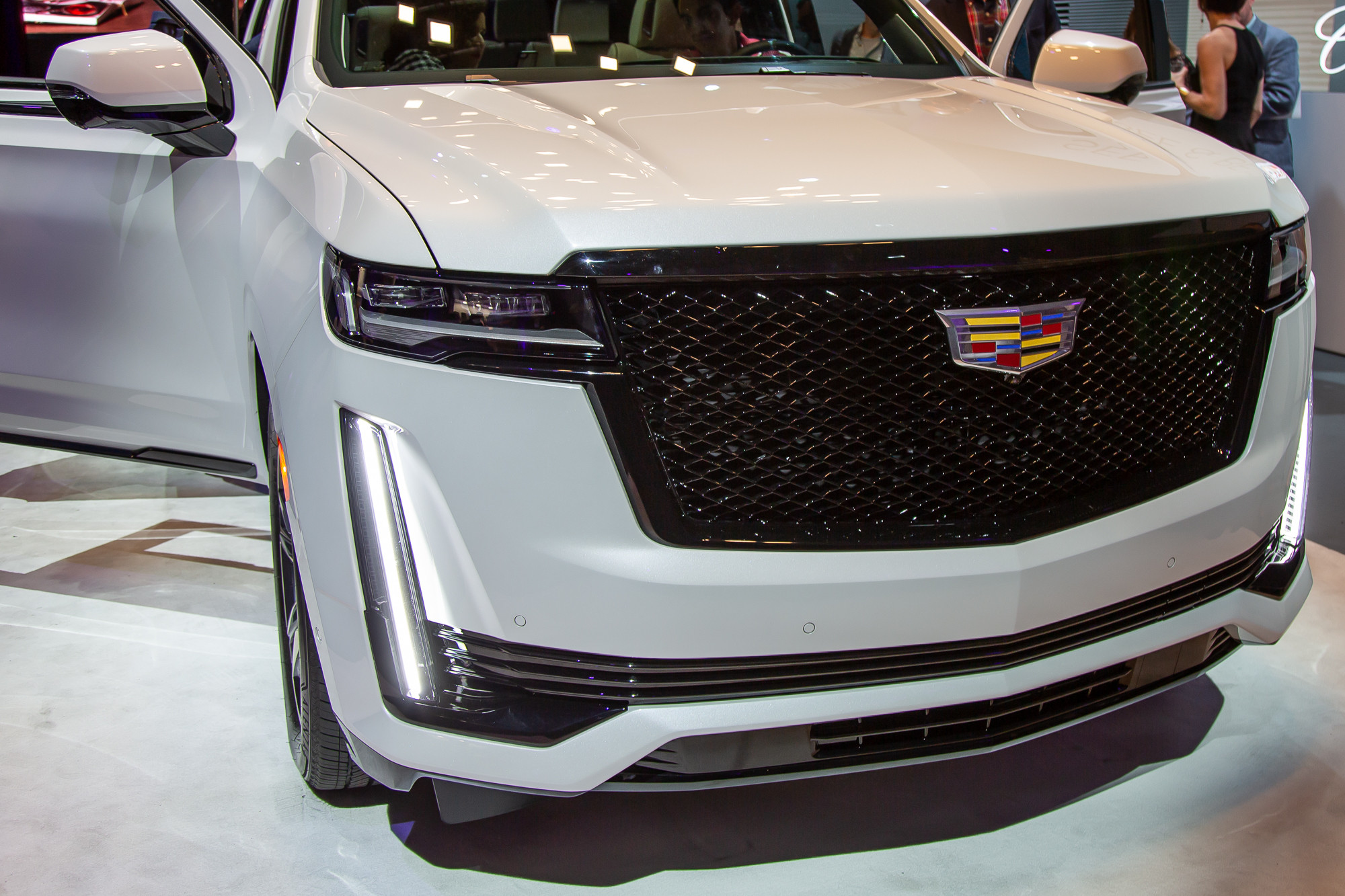 Spy Shoot Cadillac Redesign 2021
