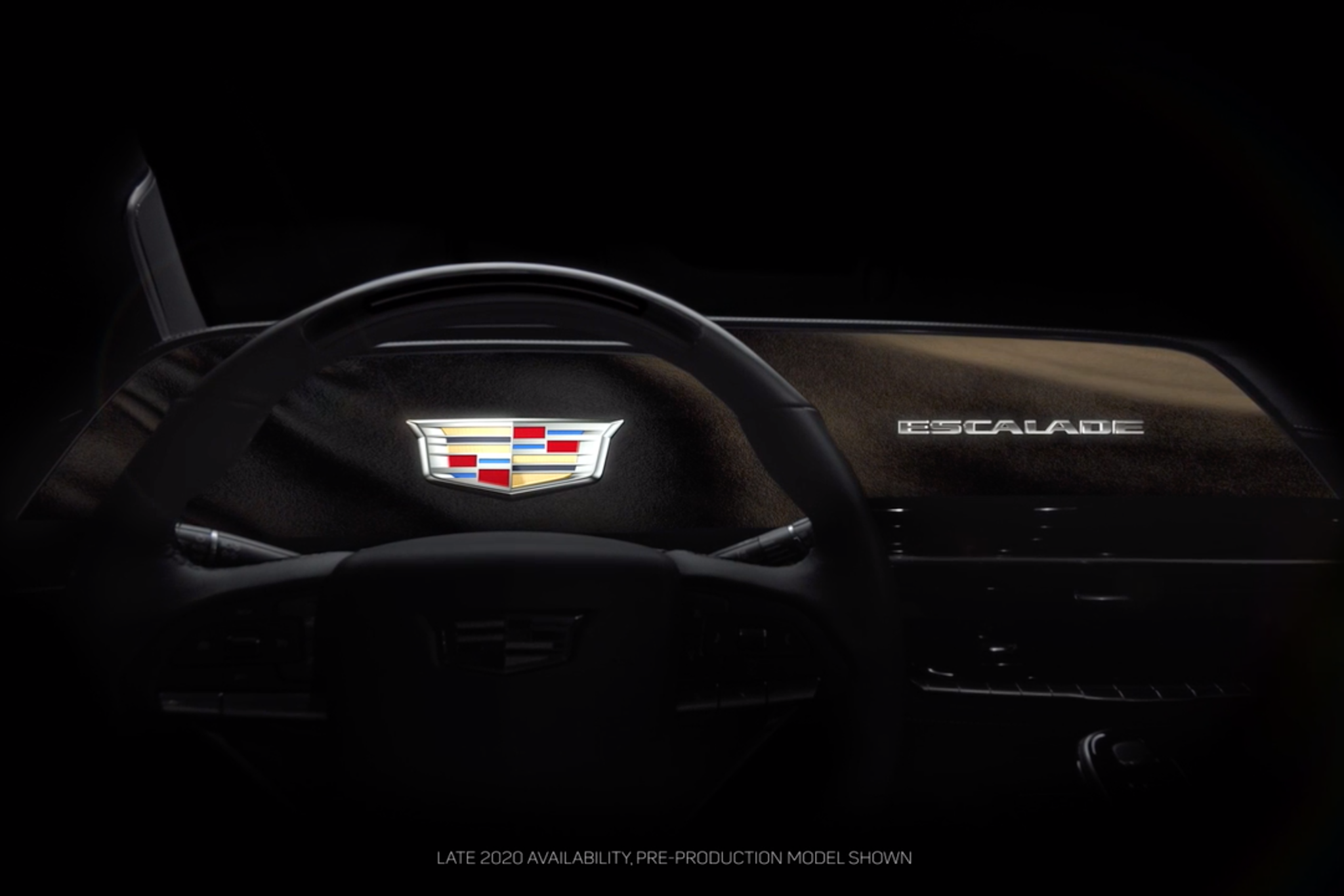 2021 Cadillac Escalade Takes the Curves With Massive New Multimedia Screen