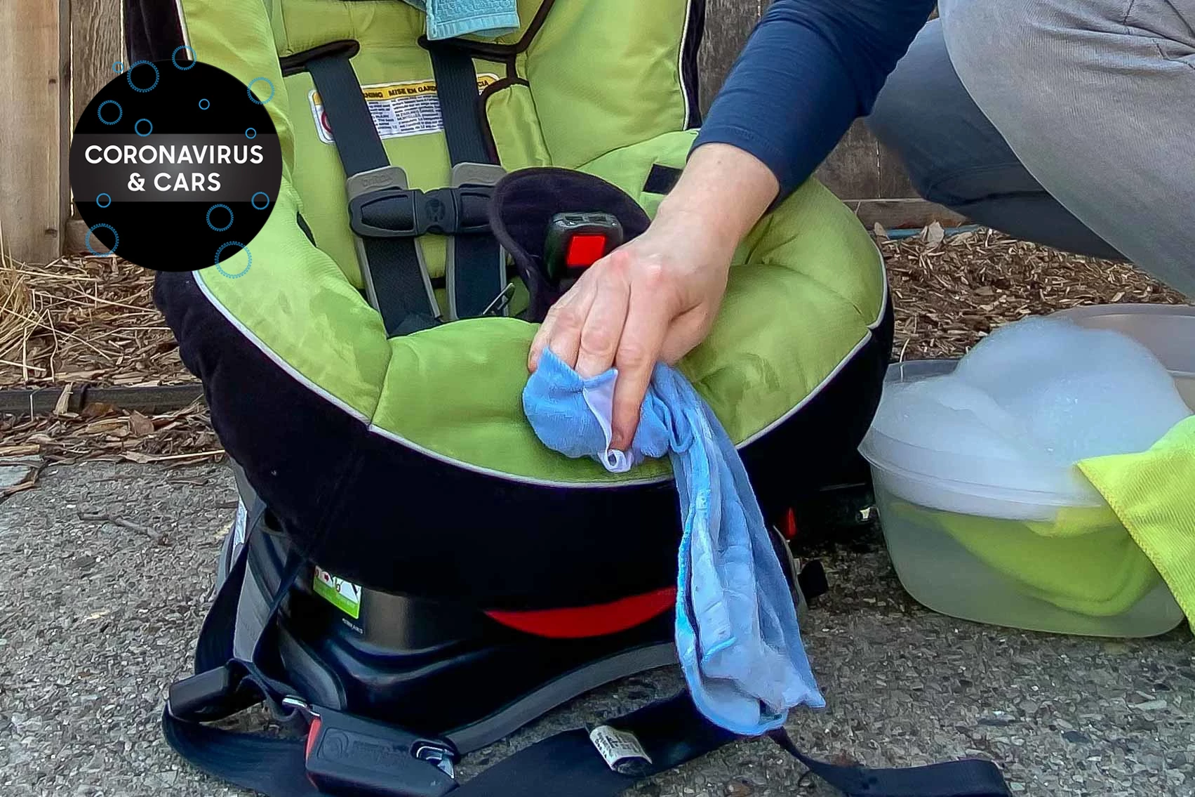 Coronavirus and Cleaning Your Child's Car Seat: What Parents Need to Know