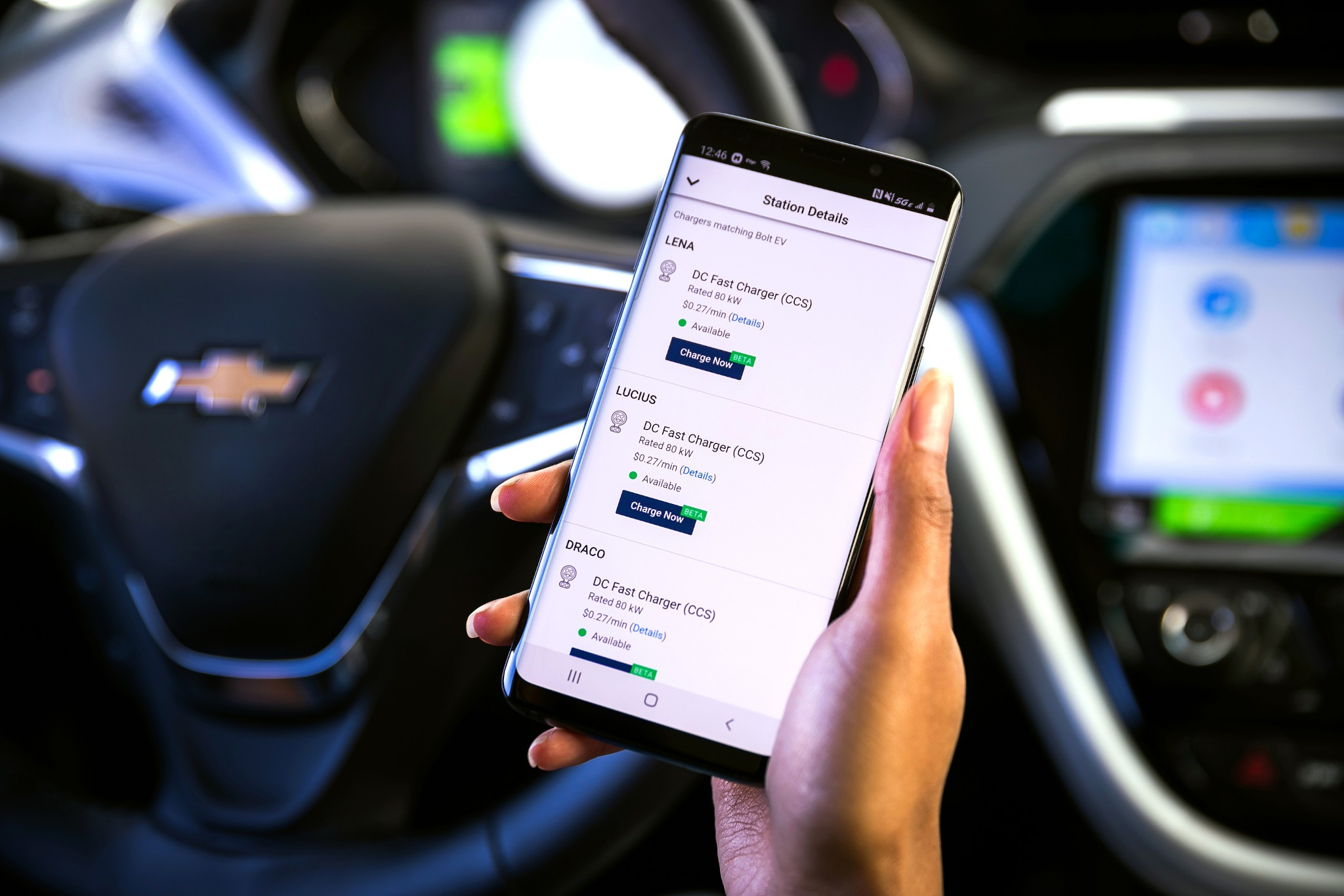 Chevrolet Bolt EV Owners Can Now Check for Chargers, Pay by App