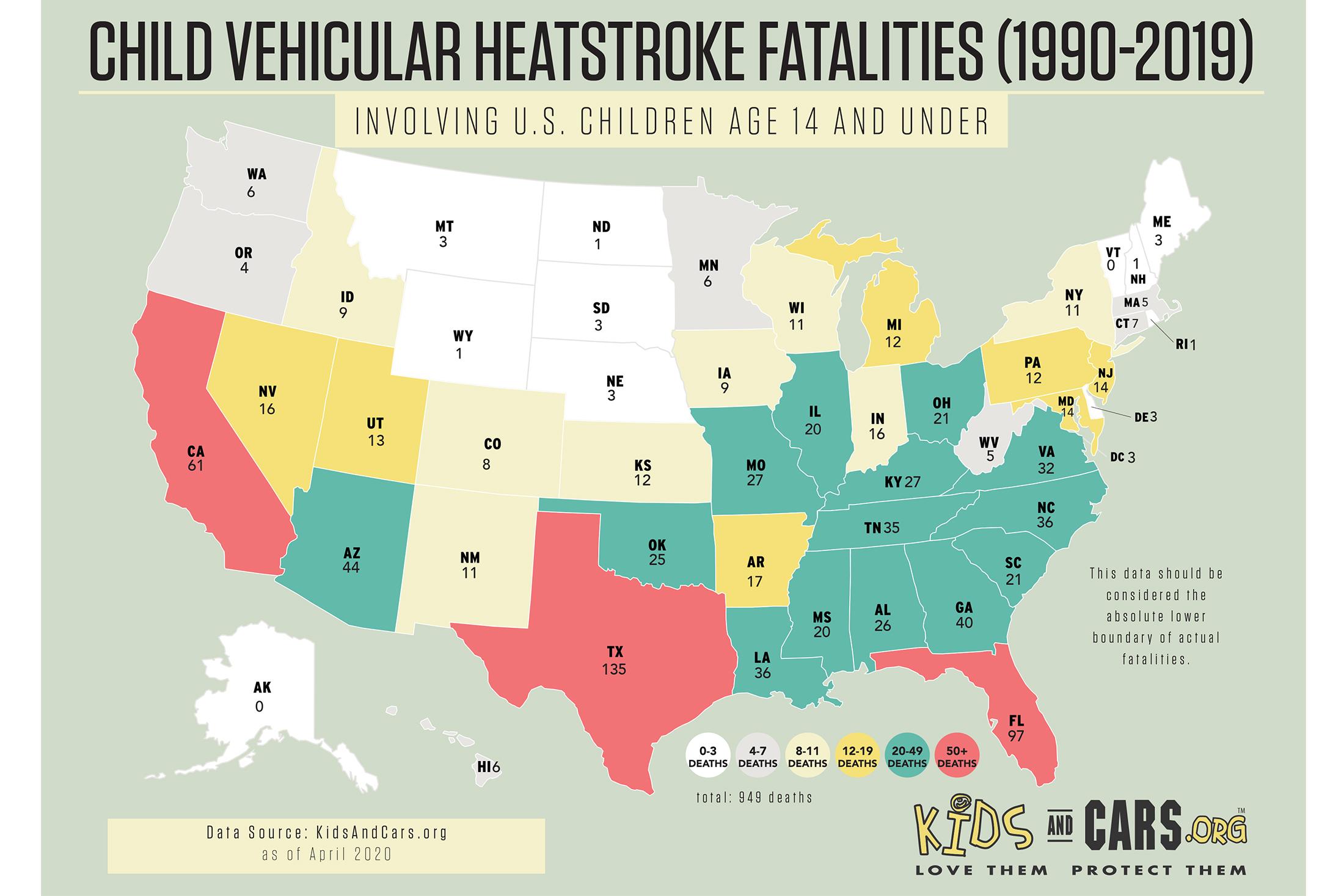 Child In-Car Heatstroke Prevention Calls for High-Tech Solutions, Vigilant Parents