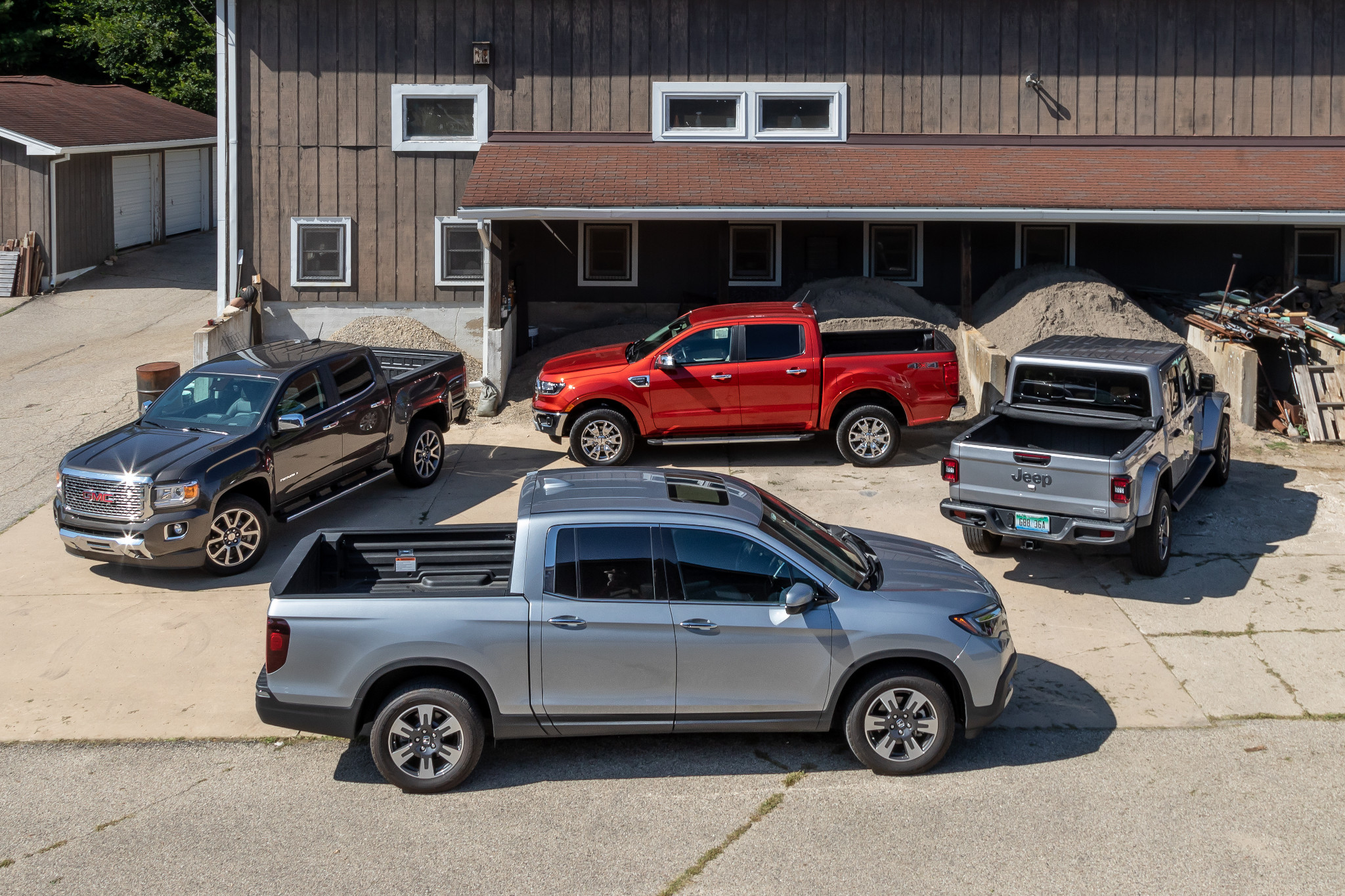 All the Pickup Truck News: Honda Ridgeline Reigns Over Rivals, 2020 Nissan Titan Teased and More