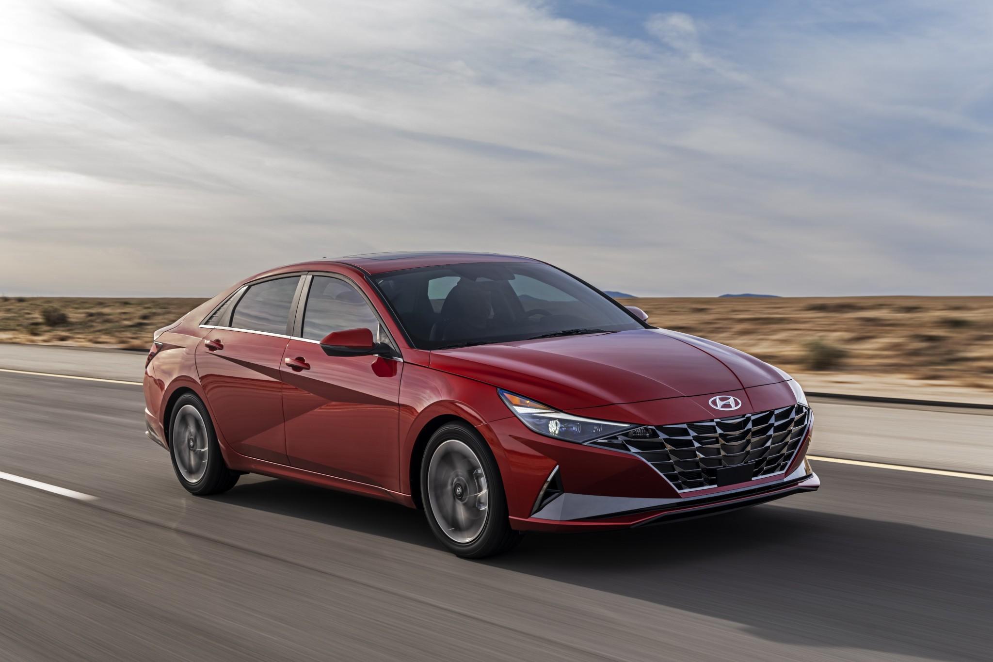 2021 Hyundai Elantra Brings High Tech, High Style, Hybrid