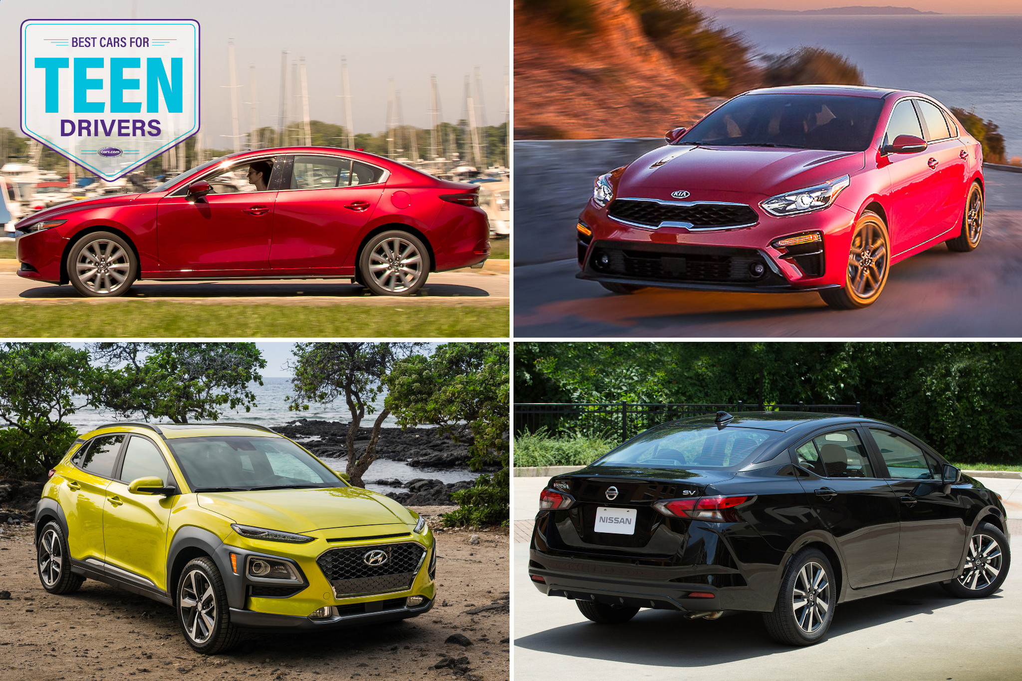 Best 2019 Cars for Teen Drivers