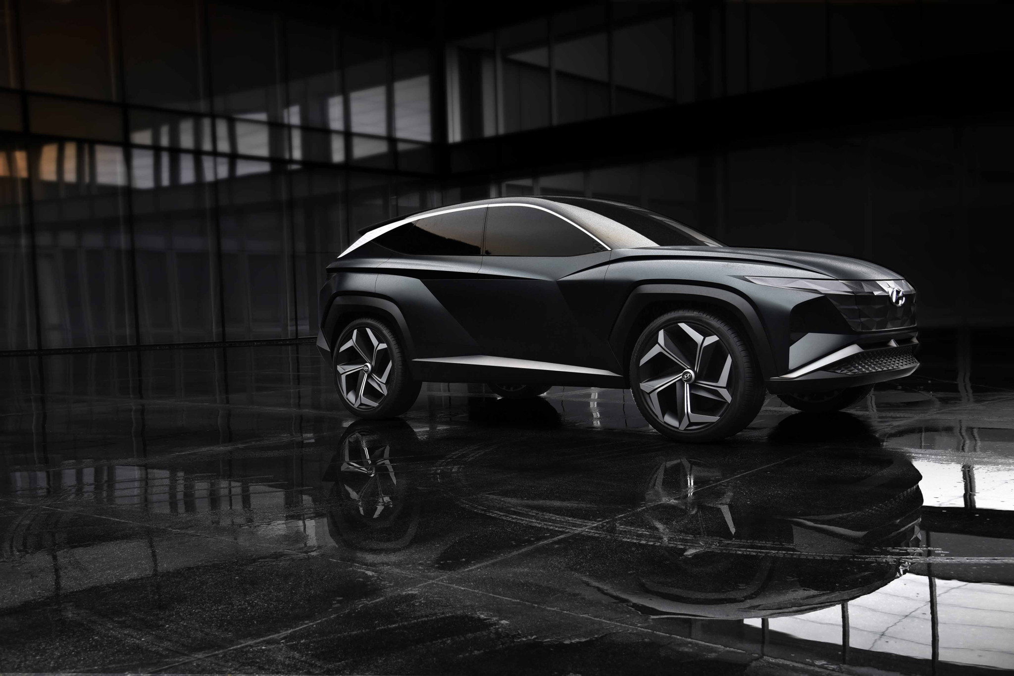 Hyundai Vision T Plug-In Hybrid SUV Concept: A Vision for the Future That's Awesome to a T