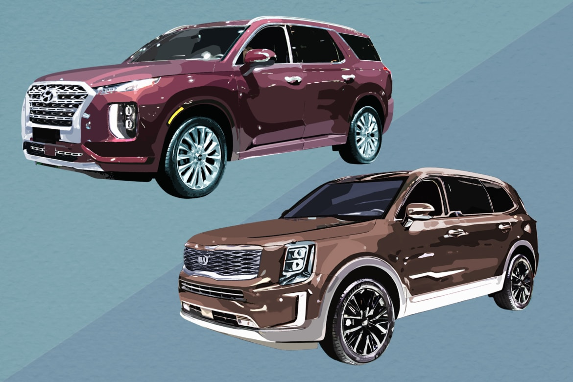 What S The Difference Between The 2020 Hyundai Palisade And 2020 Kia