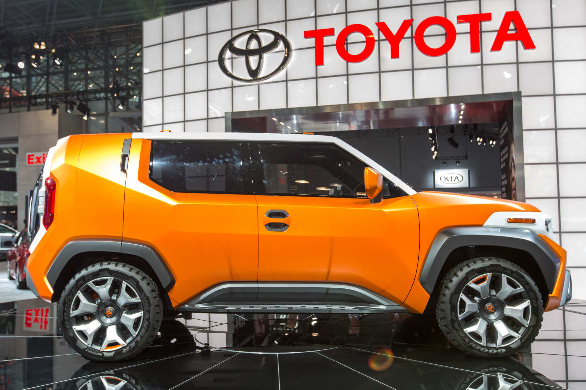 Toyota Ft 4X >> Toyota Ft 4x Concept Review Photo Gallery News Cars Com