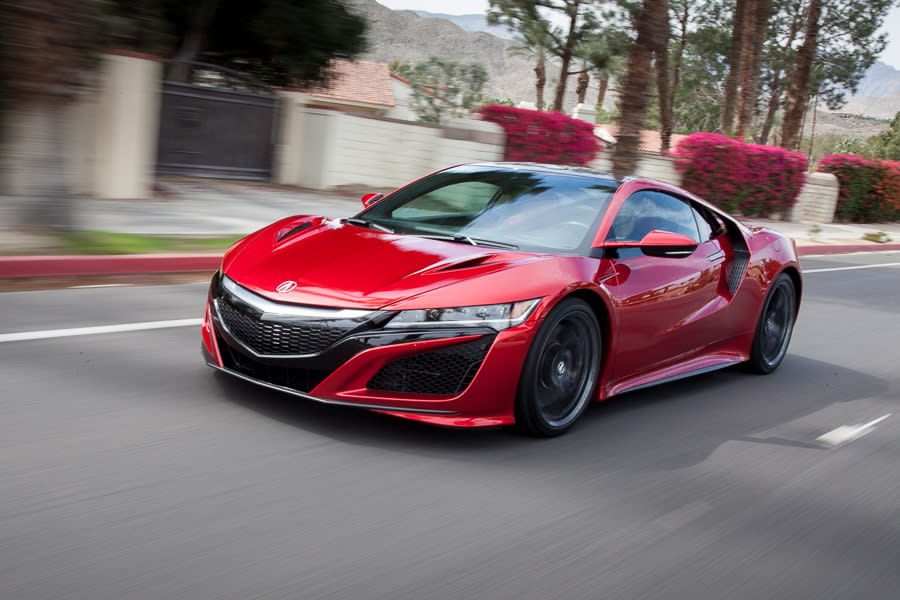Our view: 2017 Acura NSX