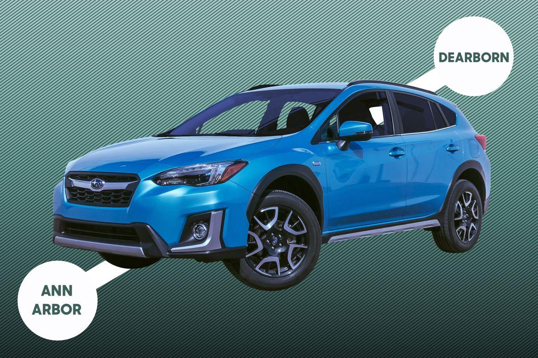 Subaru Ann Arbor >> 2019 Subaru Crosstrek Hybrid How Far Can It Go On Electric Only