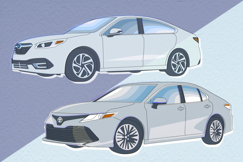 Auto Show Face-Off: 2020 Subaru Legacy Vs  2019 Toyota Camry | News