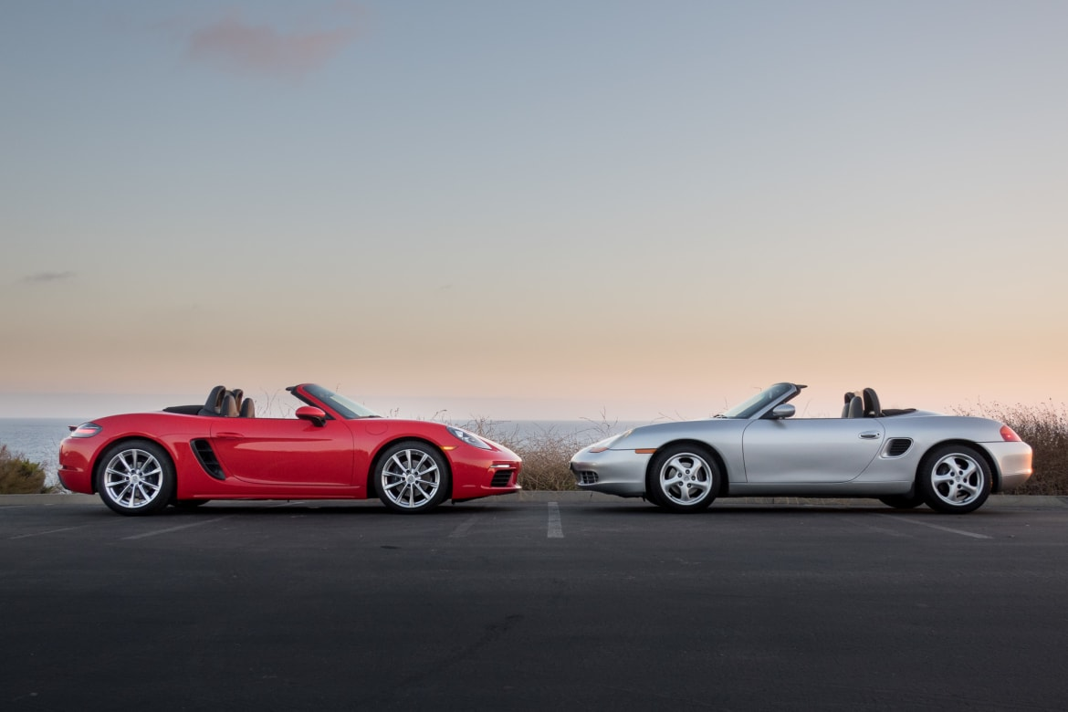 Porsche Boxster 1997 2017 The Difference 2 Decades Makes News