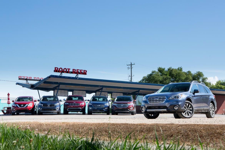 How the Subaru Outback Stacks Up Against Midsize SUVs | News | Cars com