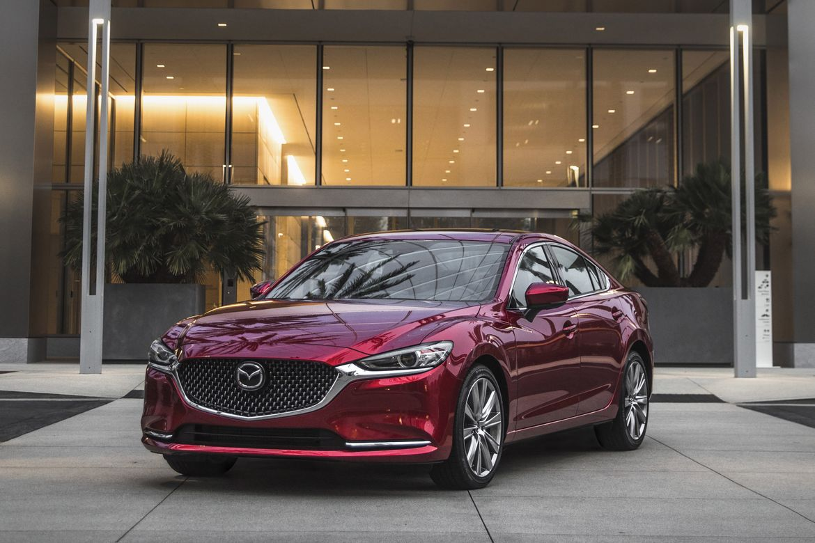 2019 Mazda6 Drops Stick Adds Safety Tech Bumps Price