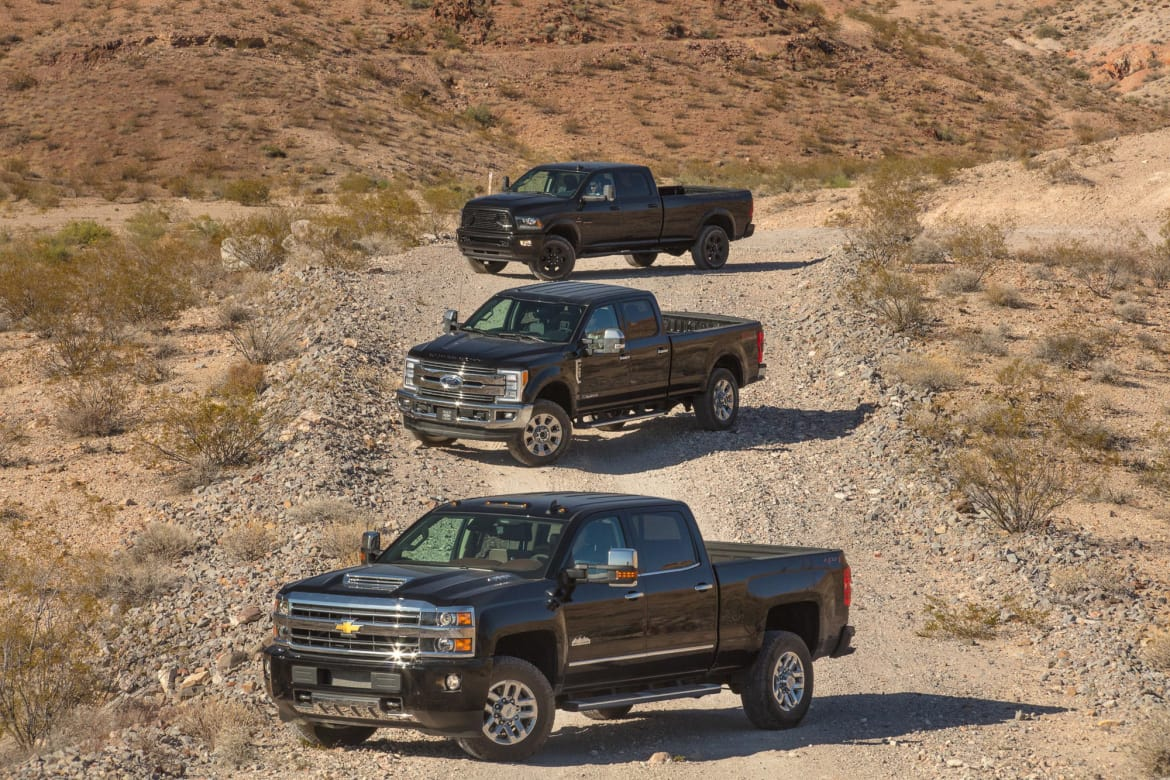 2018 Chevrolet Silverado 3500, Ford F-350, Ram 3500: Which 1