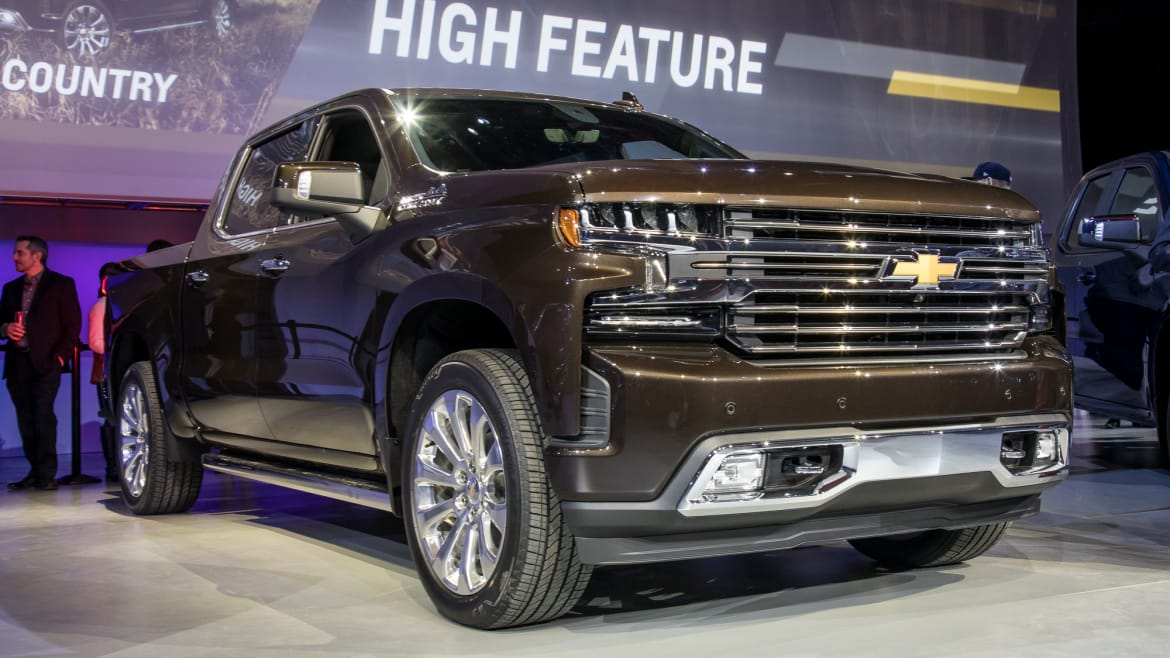 The 2019 Chevrolet Silverado 1500 Is Feeling Centered ...