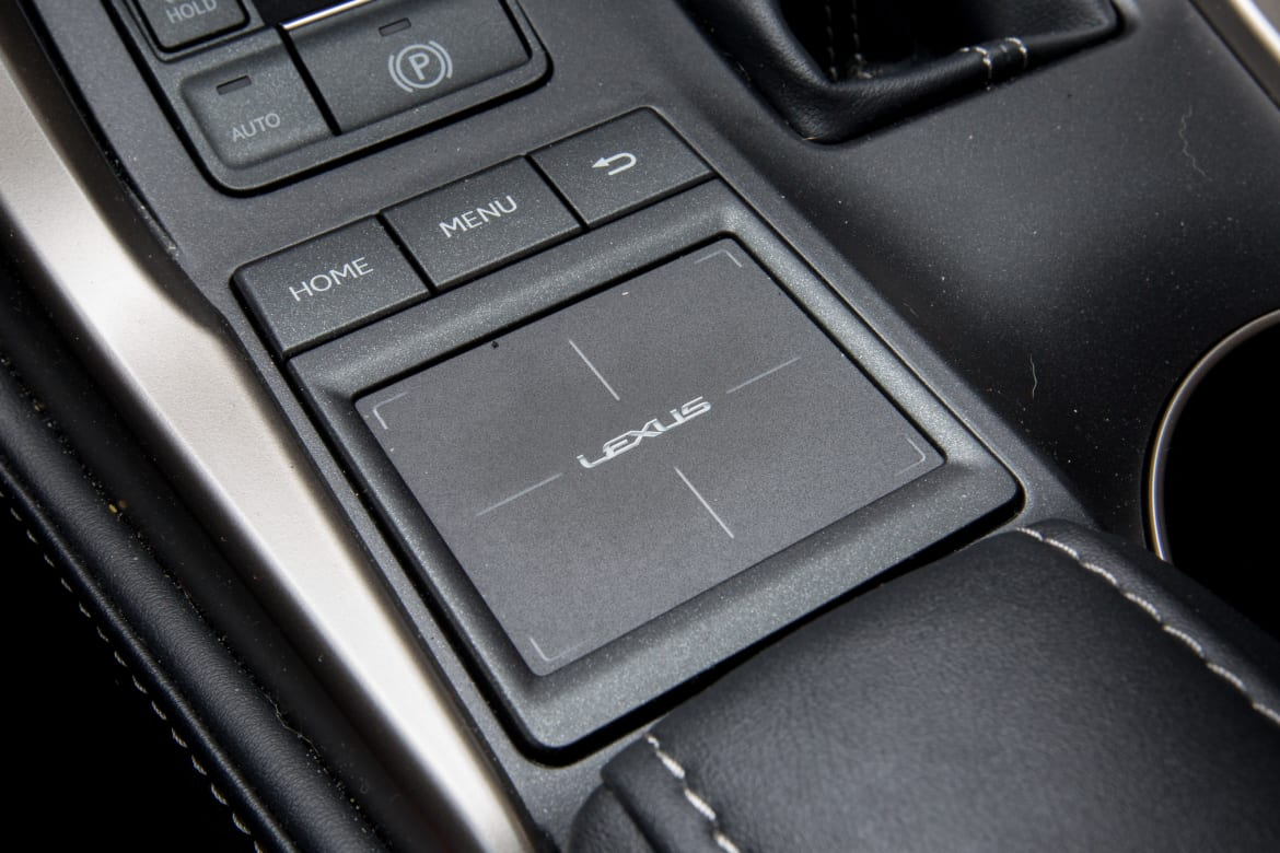 Lexus NX 300h Remote Touch Hits Sore Spot | News | Cars com