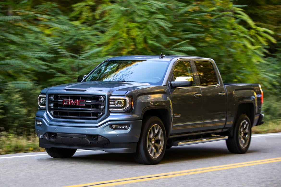 2016 Mid-Size, Full-Size Pickup Truck Fuel-Tank Capacities