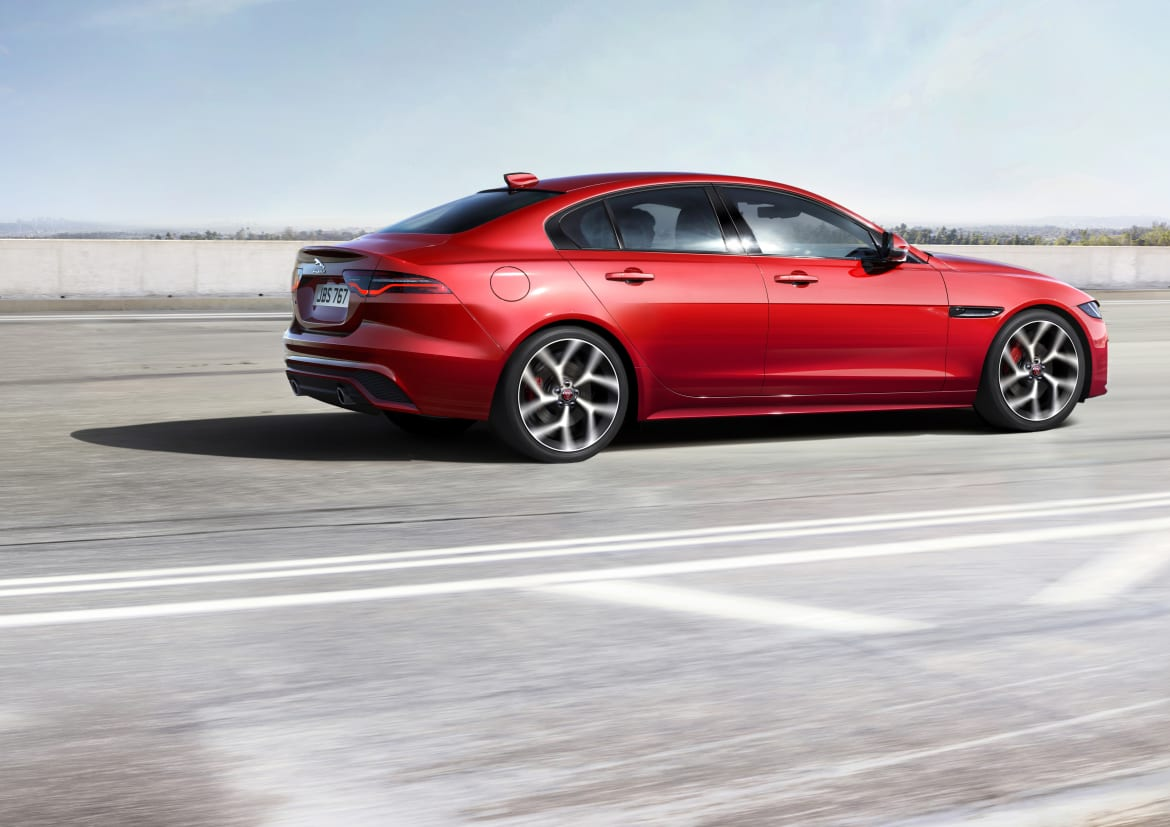 2020 Jaguar Xe Gets Updated Styling Drops V 6 And Diesel Engines