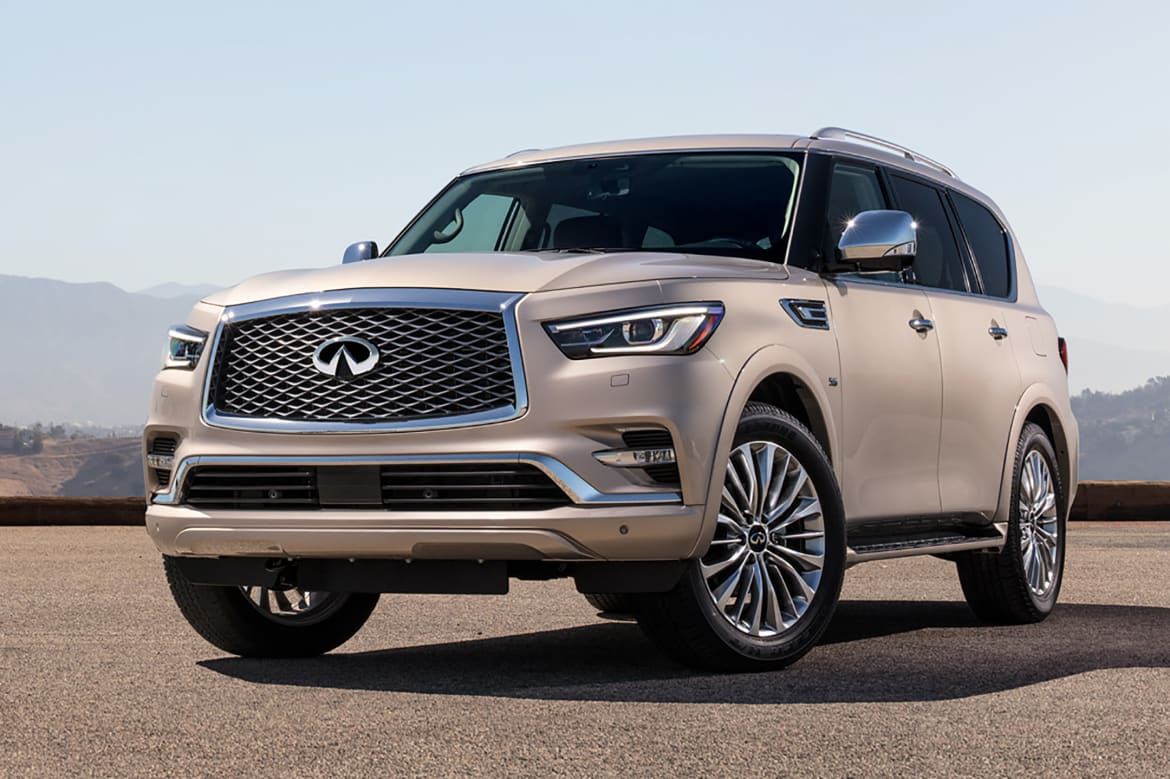 2018 Infiniti Qx80 Freshened Up Marked Up News Cars Com