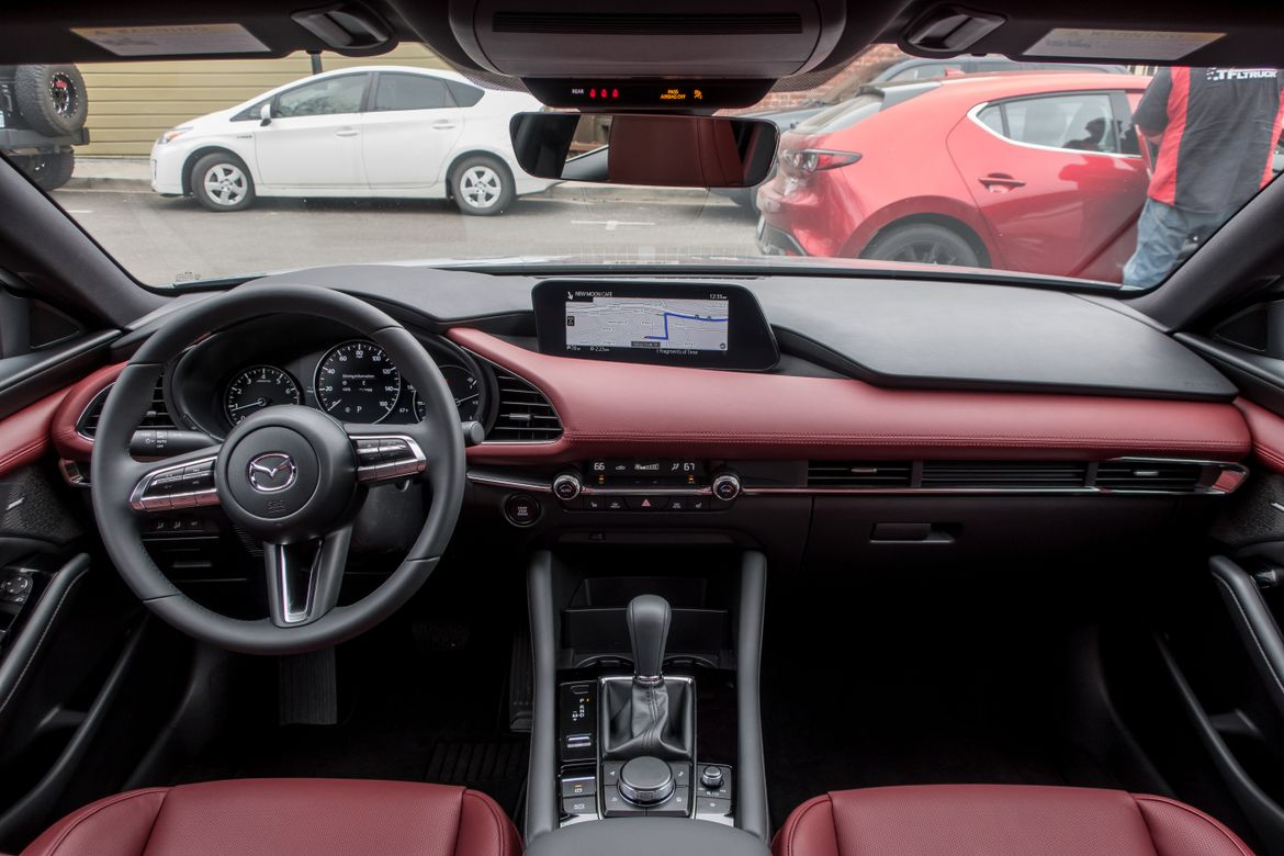 2019 mazda3 first drive improvements fall short of luxury aspirations news. Black Bedroom Furniture Sets. Home Design Ideas