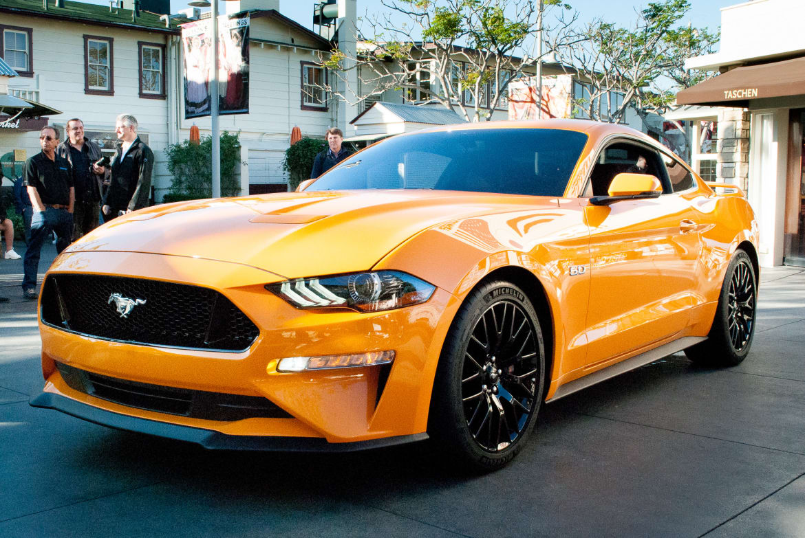 2018 ford mustang whats the cost of a fill up