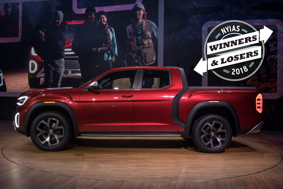 Ny Car Show >> 2018 New York Auto Show Winners And Losers News Cars Com