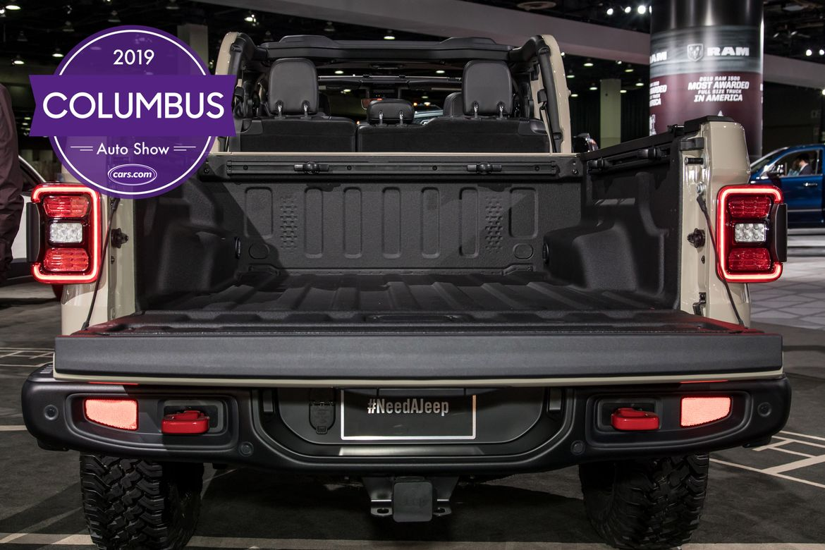 2019 Columbus Auto Show: Jeep Gladiator Tops 5 Things You Can't Miss