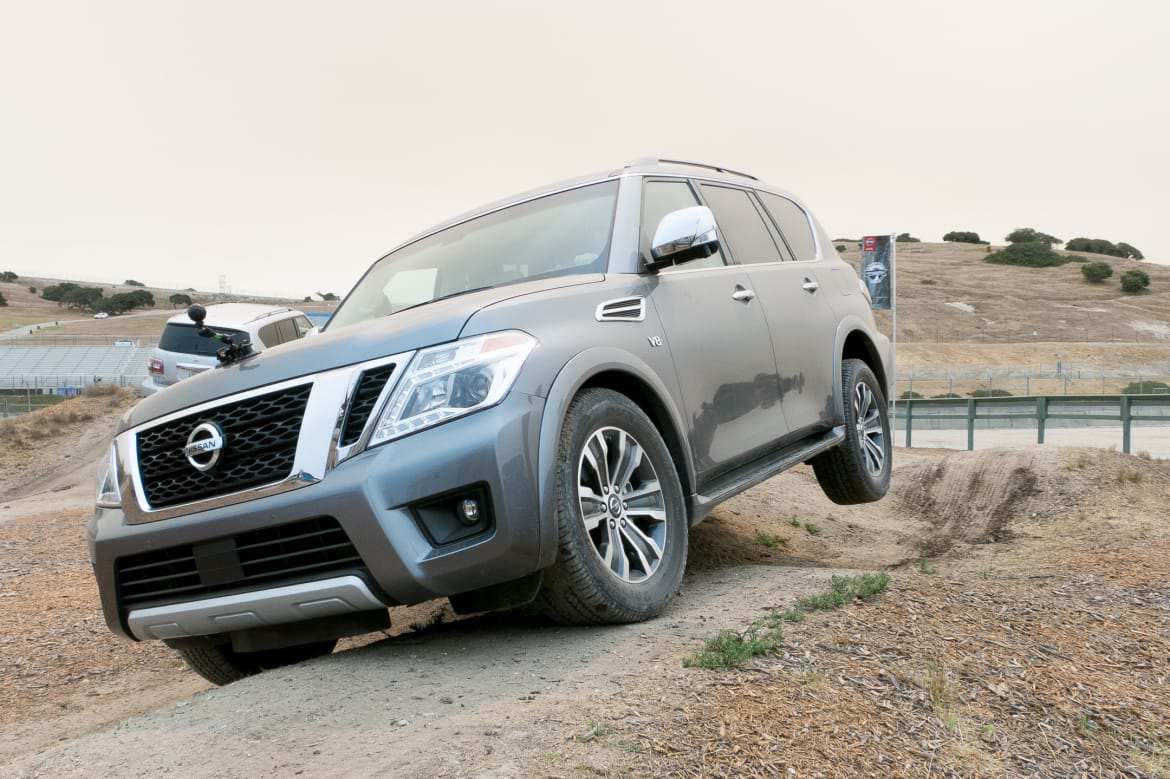 2017 Nissan Armada Review: First Drive | News | Cars com