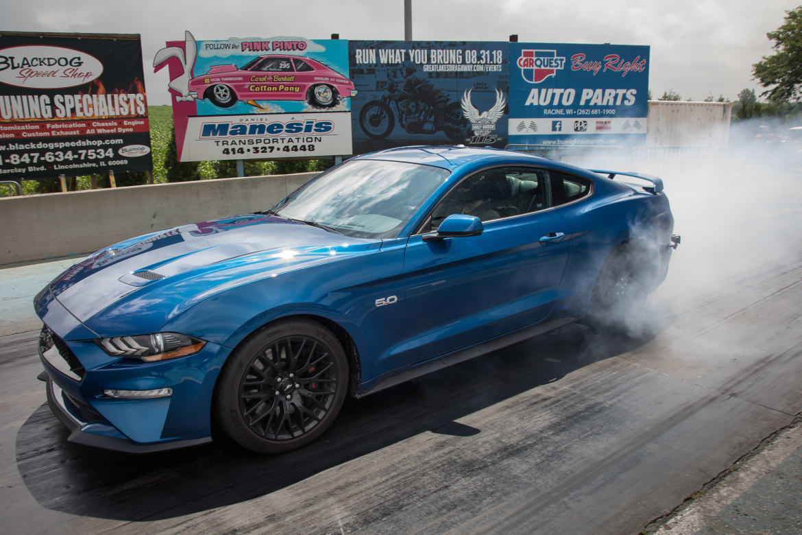 Mustang Vs  Mustang: Ford's Performance Packages Tested