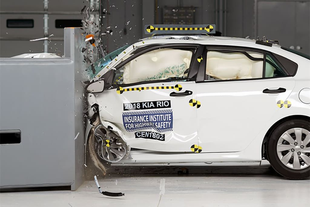 Redesigned Kia Rio Hyundai Accent Boost Crashworthiness Ratings