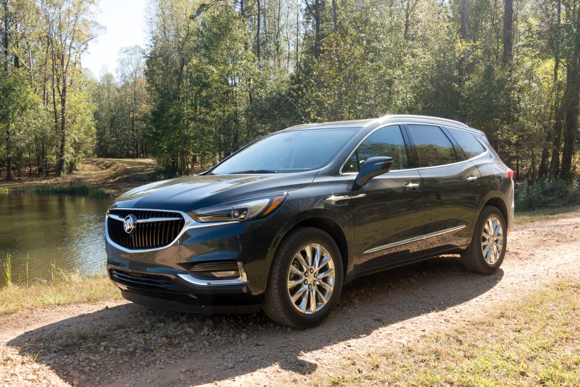 2018 Buick Enclave Review First Drive News Cars Com