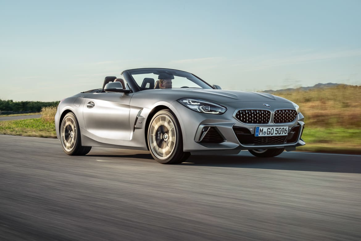 Here S Everything We Know About The 2019 Bmw Z4 Roadster