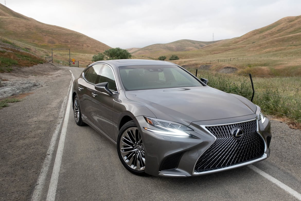 I Hypermiled The 2018 Lexus Ls 500h From L A To Napa And It