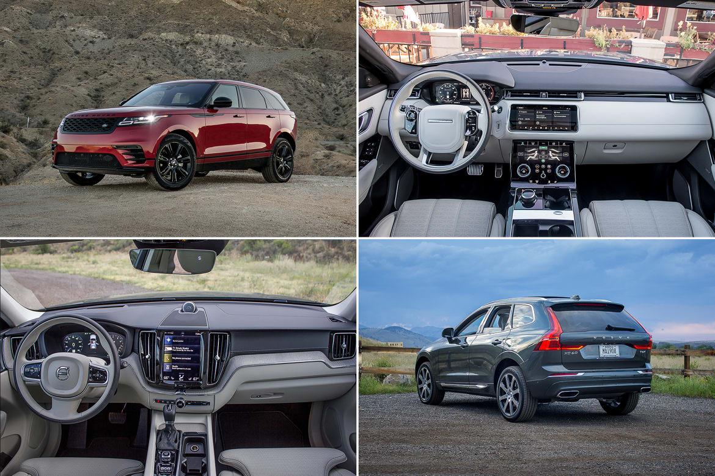 Range Rover Vs Land Rover >> 2018 Land Rover Range Rover Velar Vs Volvo Xc60 An Interior