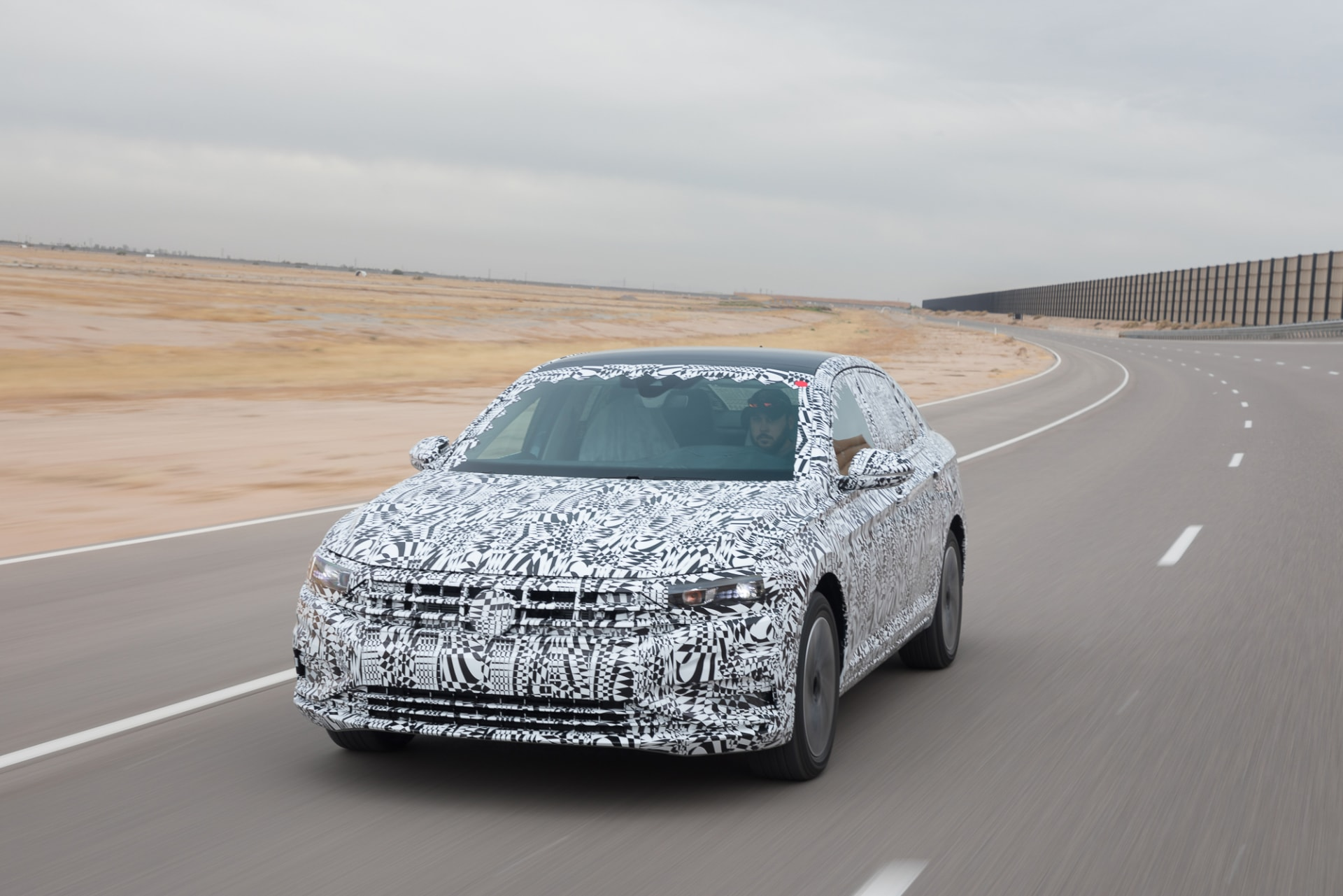 There's a New 2019 Volkswagen Jetta Coming, and We Drove It