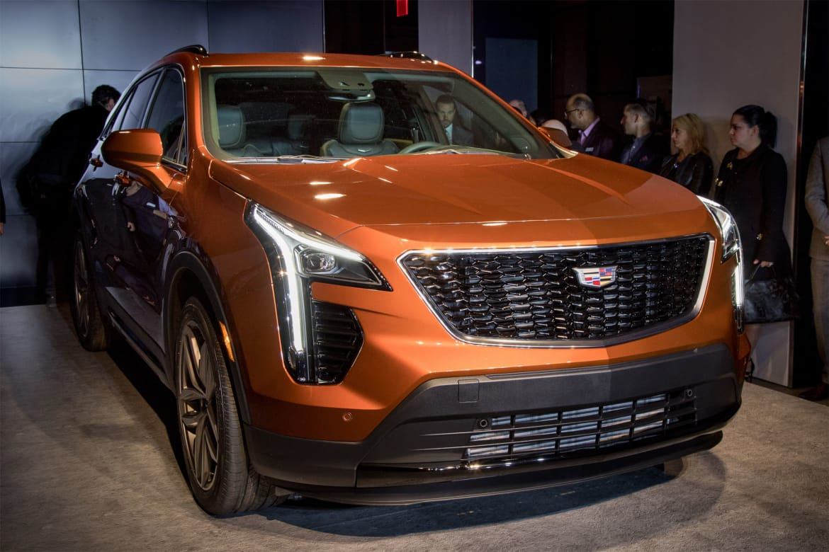 Don't Let the Base Price Fool Ya: Cadillac XT4 Gets High ...