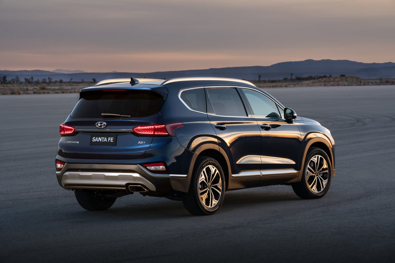 2019 Hyundai Santa Fe Accent Earn Crash Test Kudos News