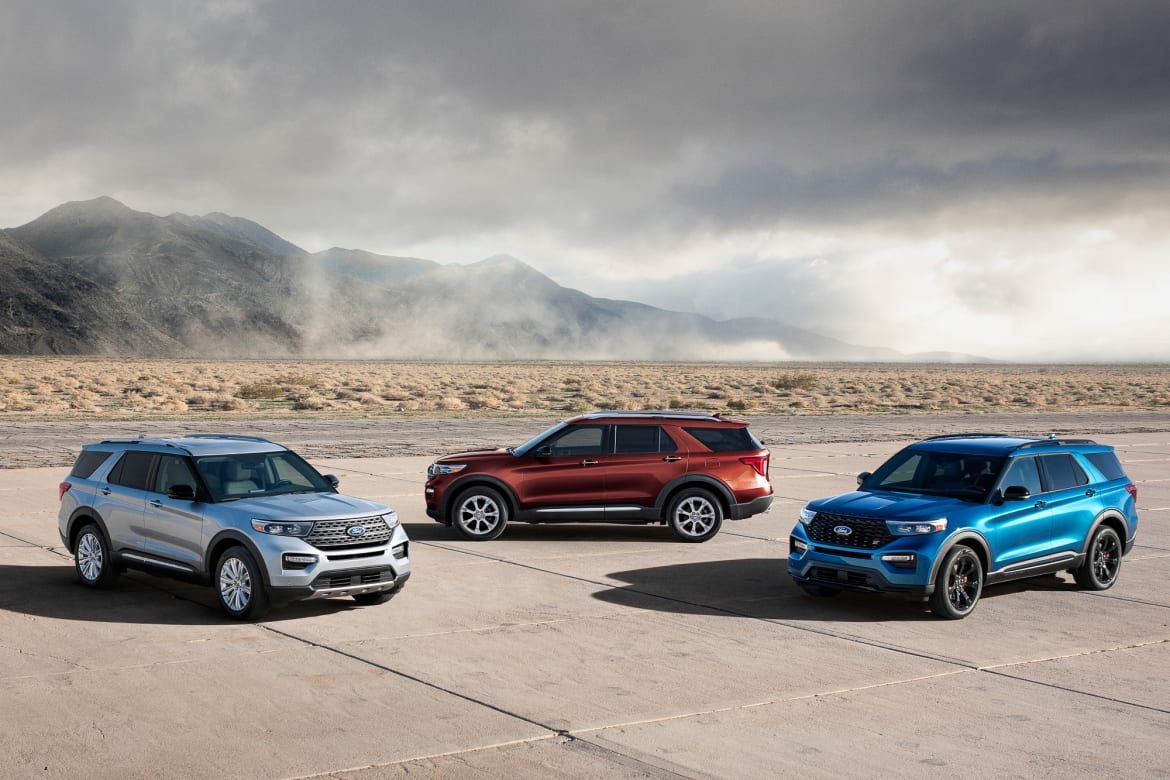 2020 Ford Explorer St And Hybrid Go Fast Or Go Far News