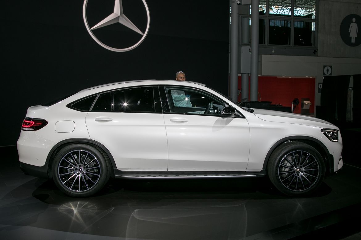 2020 Mercedes Benz Glc300 Coupe Why Just Why News