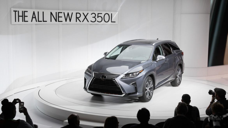 2018 Lexus RX 350L's Third Row Isn't for Adults | News