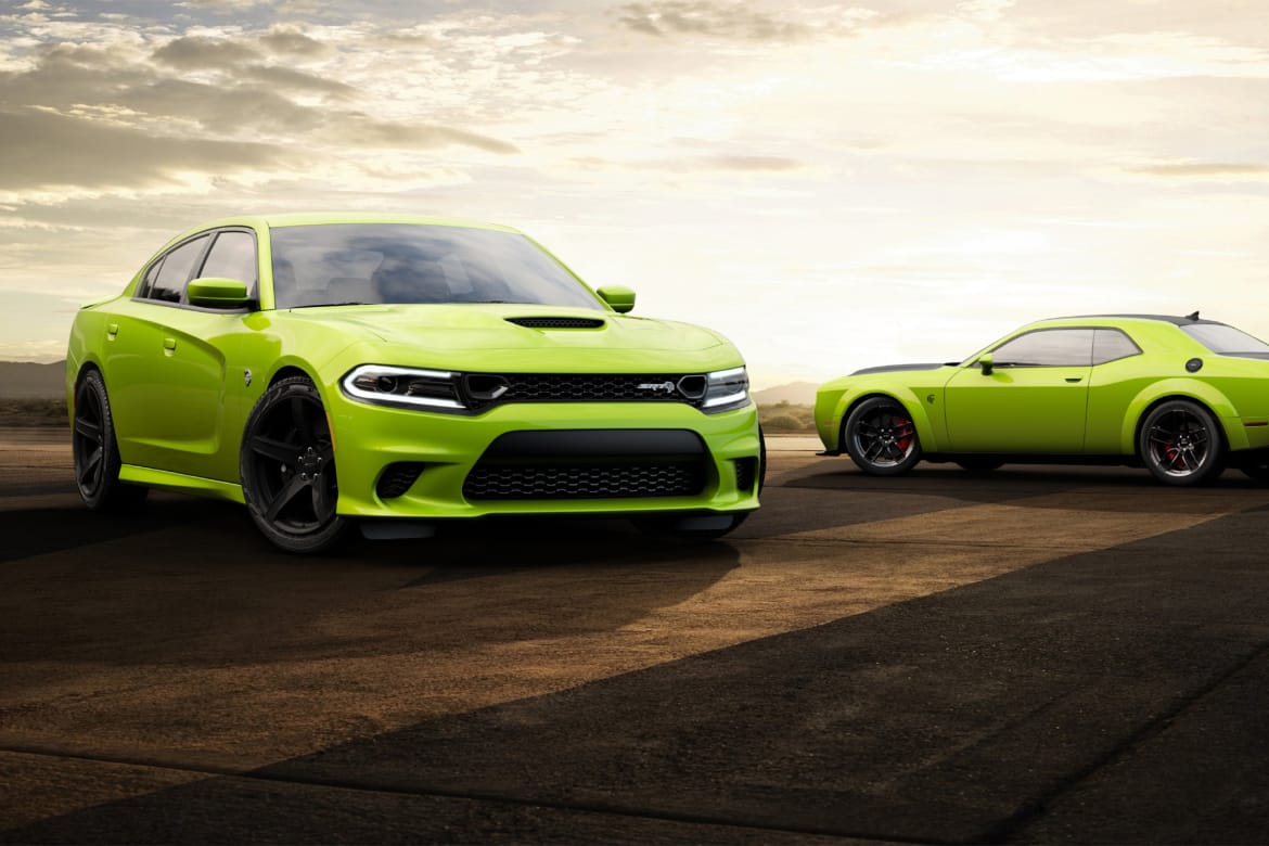 2019 Dodge Challenger Charger Go Green But Not In An Eco