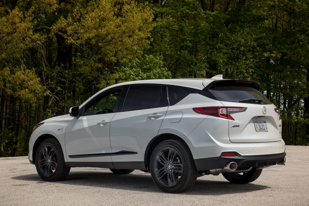 2019 acura rdx first drive  finally  not a warmed